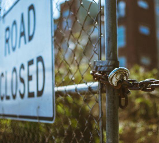 Energieweg dicht; praktijk te bereiken via omleiding