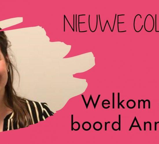 Nieuwe collega Anniek Ketels